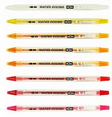 三角桿 旋轉水溶性色鉛筆