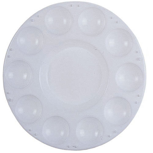 圓型水彩盤