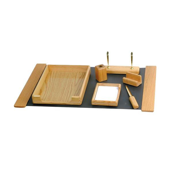 橡木桌上組合(7件式)