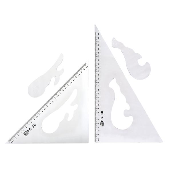 PS 三角板 30cm
