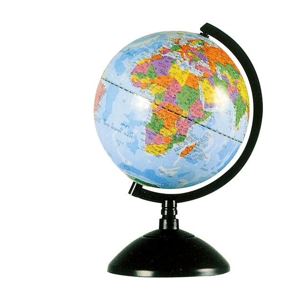 8吋地球儀(塑膠座)