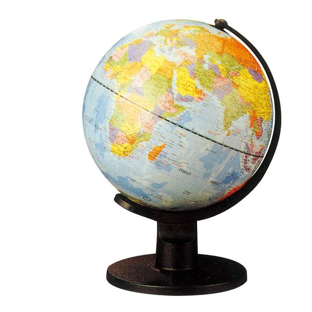 10吋地球儀(塑膠座)