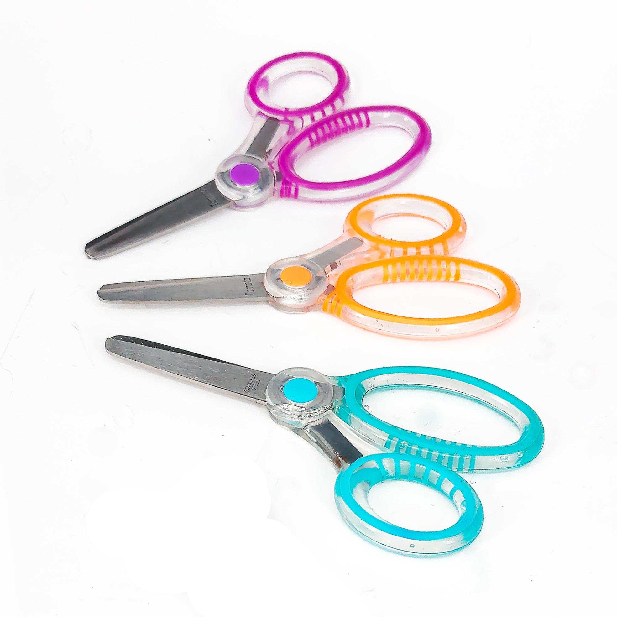透明雙色剪刀